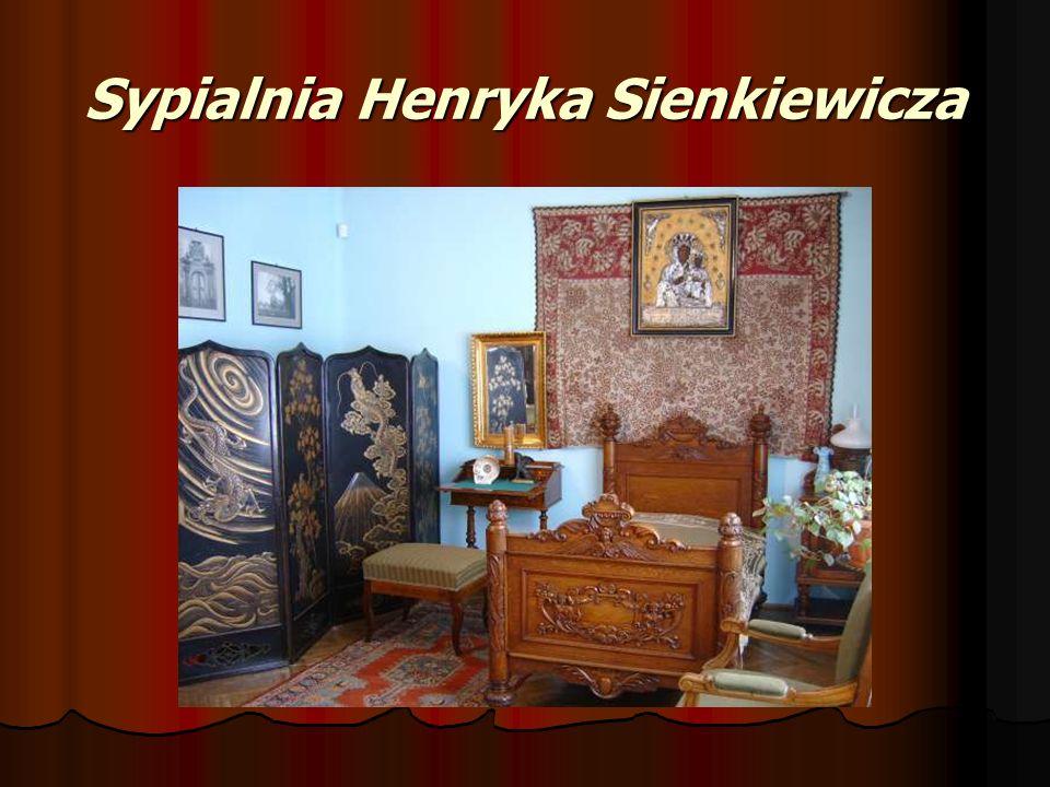 Sypialnia Henryka Sienkiewicza