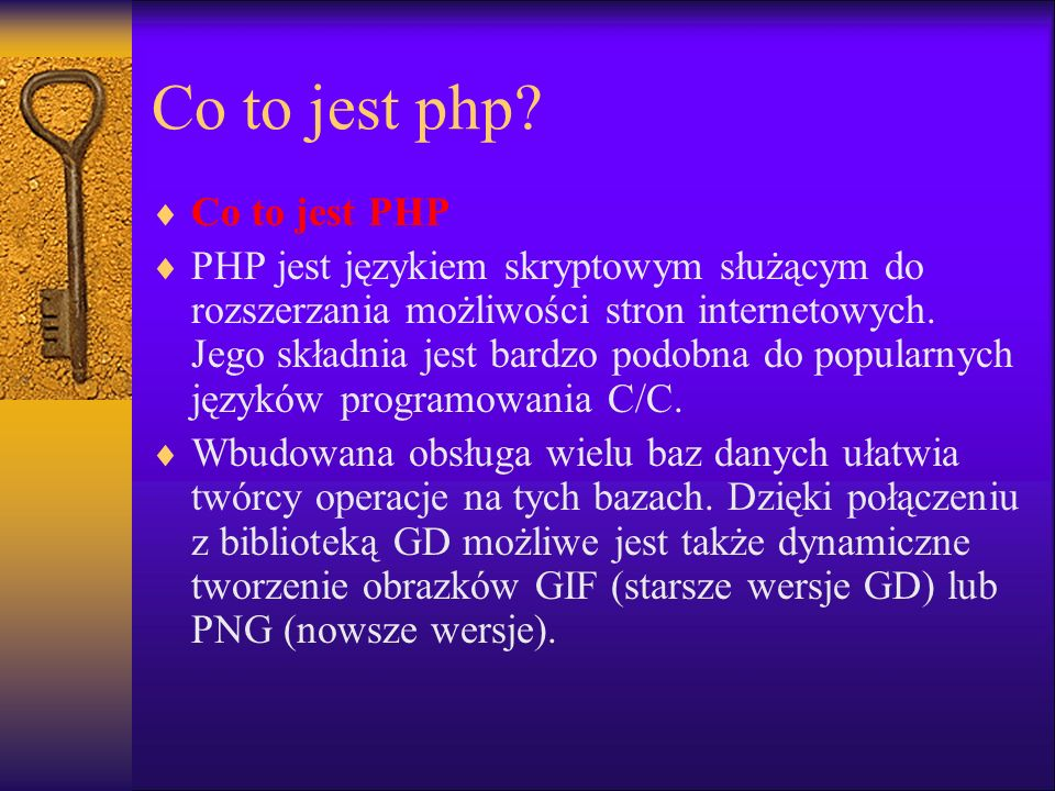 Co to jest php Co to jest PHP