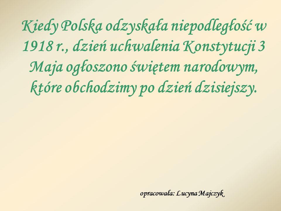 Kiedy Polska odzyskała niepodległość w 1918 r
