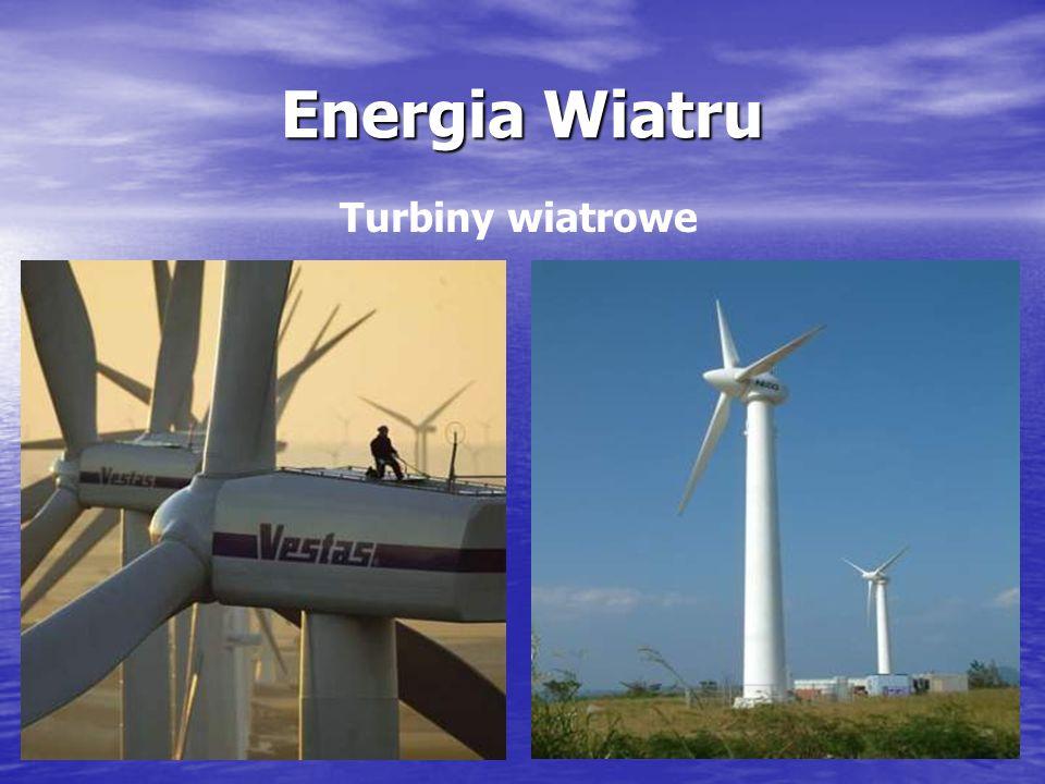Energia Wiatru Turbiny wiatrowe