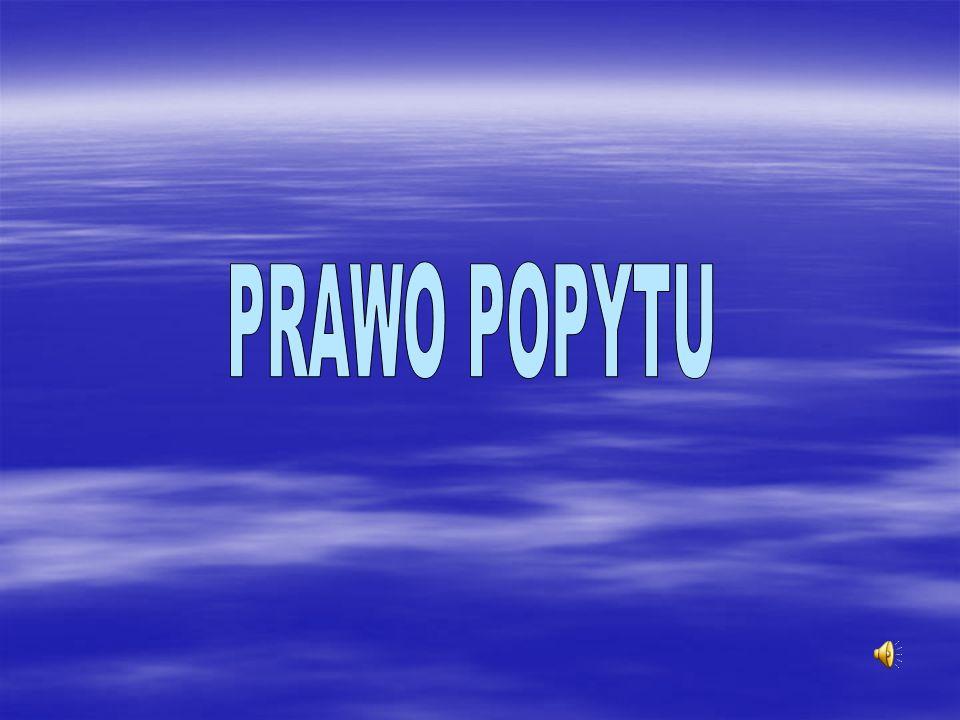 PRAWO POPYTU