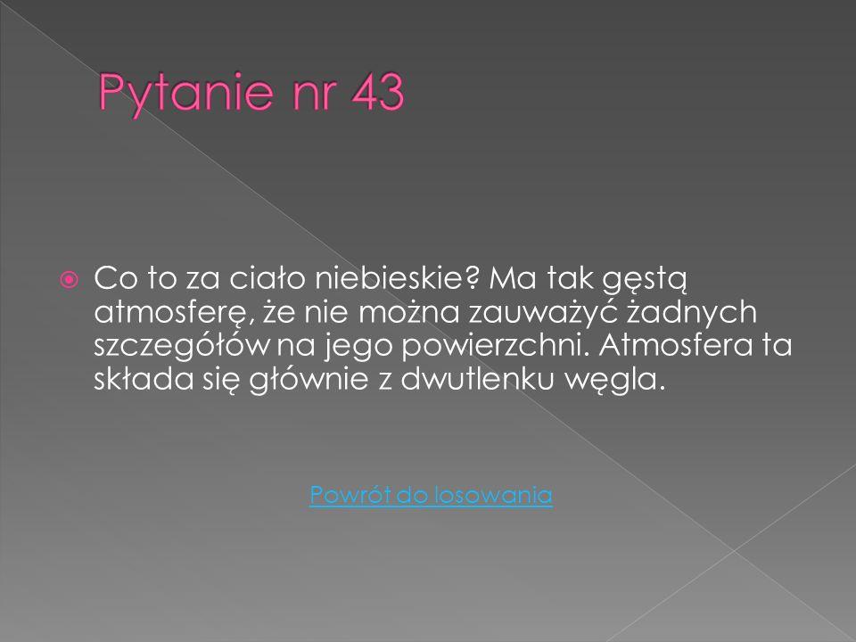 Pytanie nr 43
