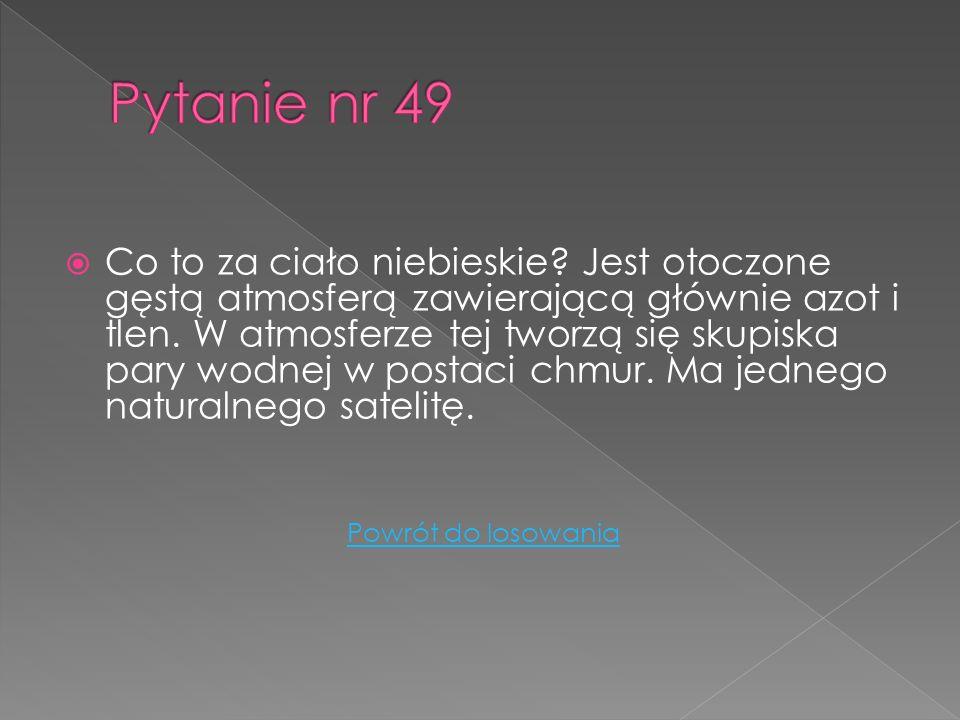 Pytanie nr 49