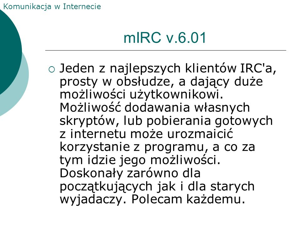 mIRC v.6.01