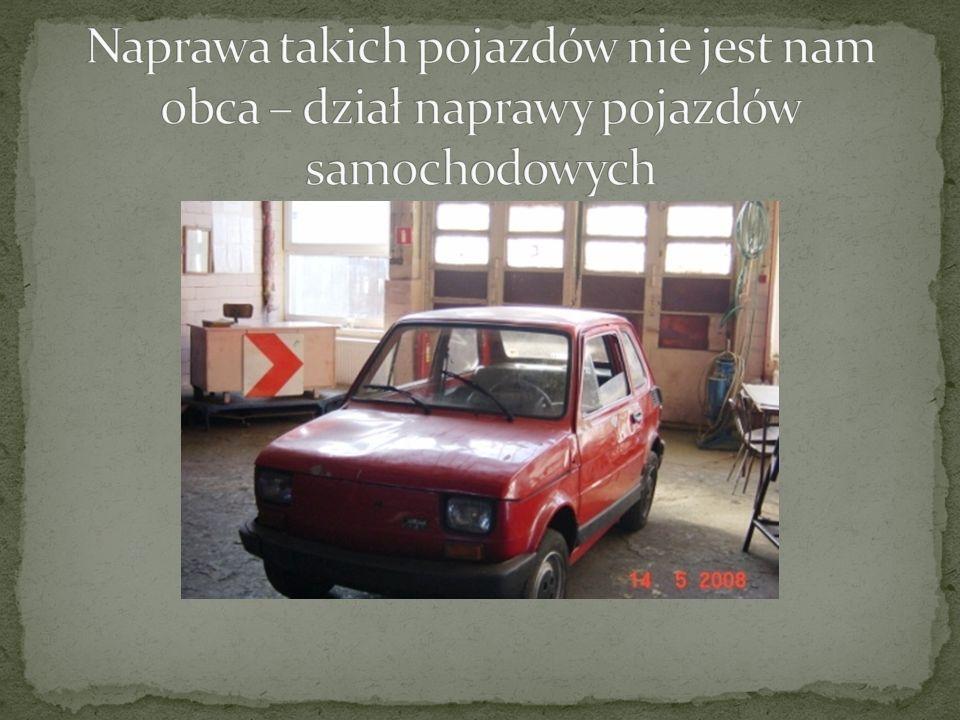 Naprawa takich pojazdów nie jest nam obca – dział naprawy pojazdów samochodowych