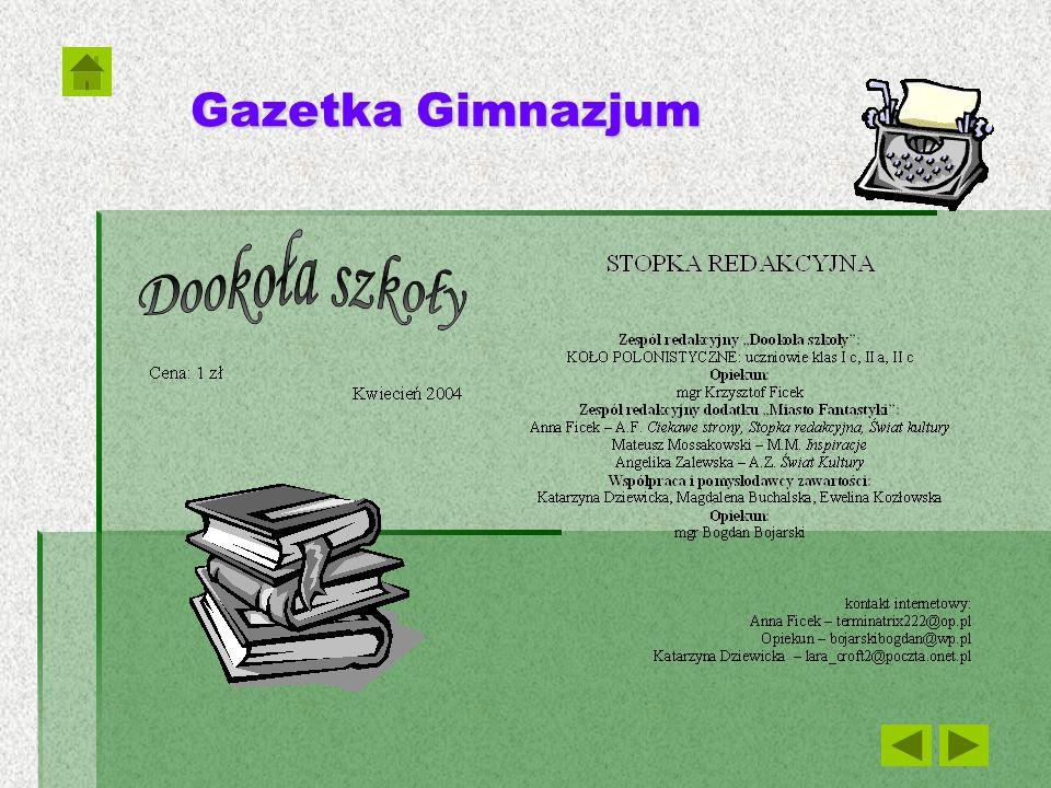 Gazetka Gimnazjum