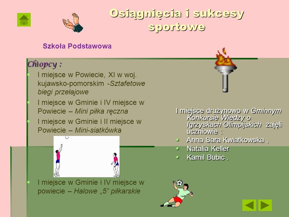 Osiągnięcia i sukcesy sportowe