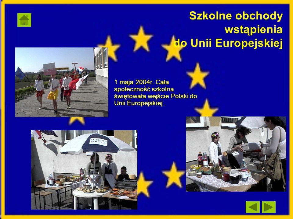 Szkolne obchody wstąpienia do Unii Europejskiej