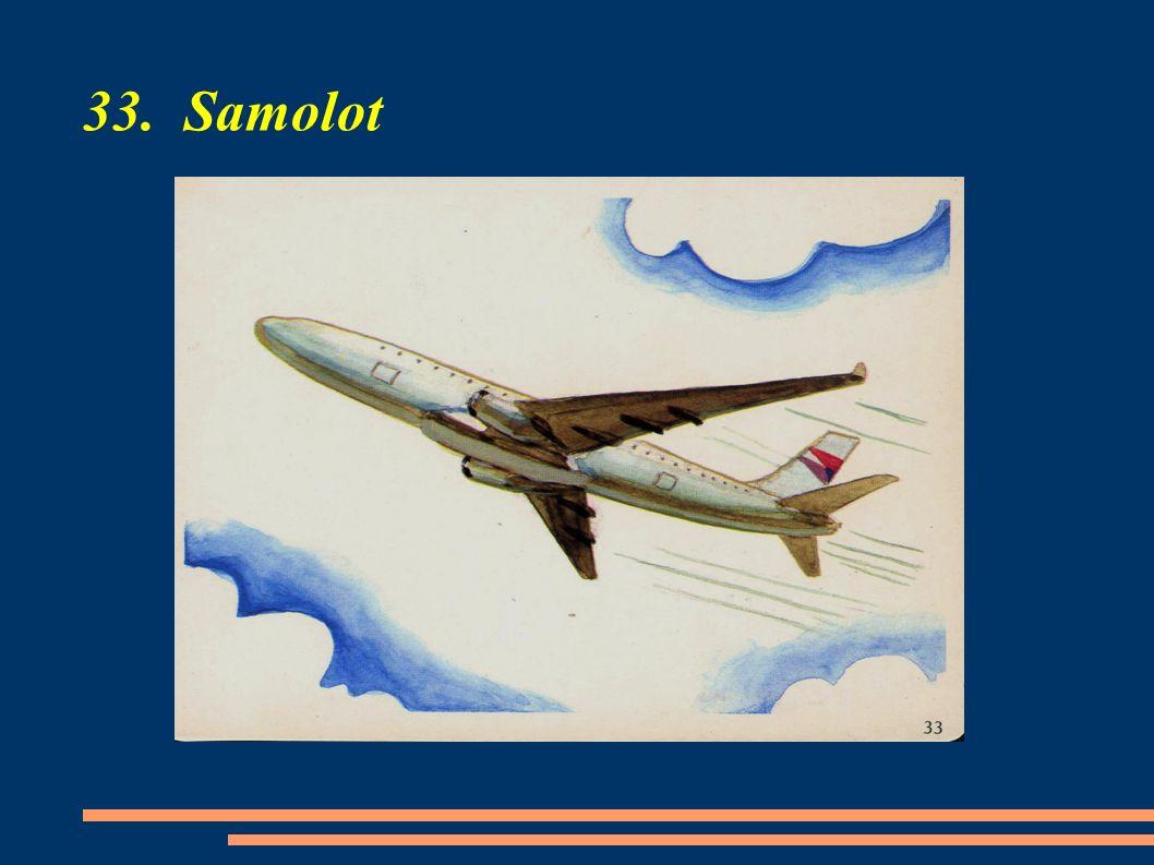 33. Samolot