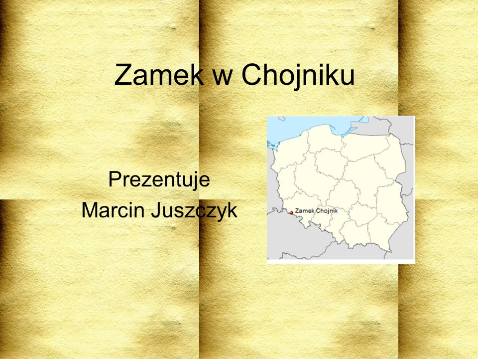 Prezentuje Marcin Juszczyk