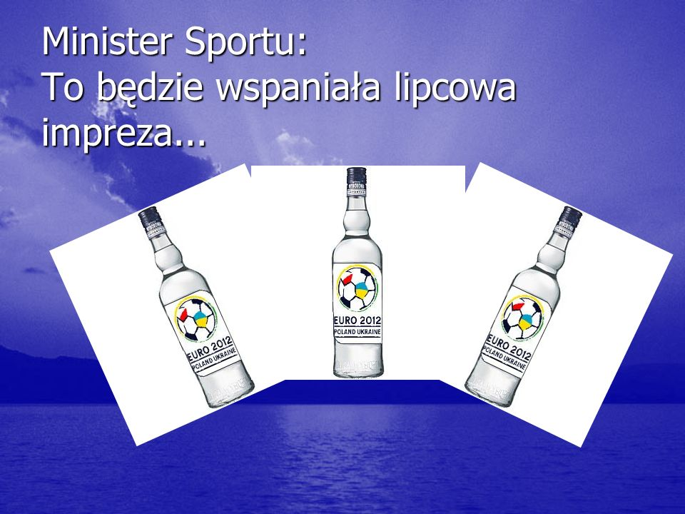 Minister Sportu: To będzie wspaniała lipcowa impreza...