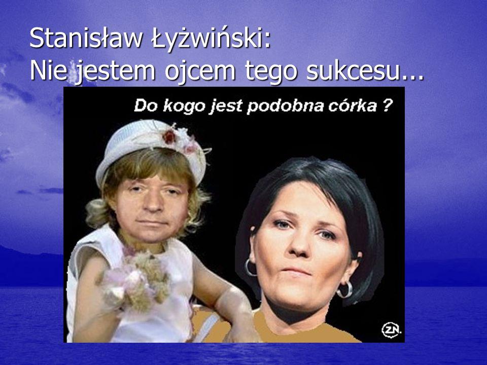Stanisław Łyżwiński: Nie jestem ojcem tego sukcesu...