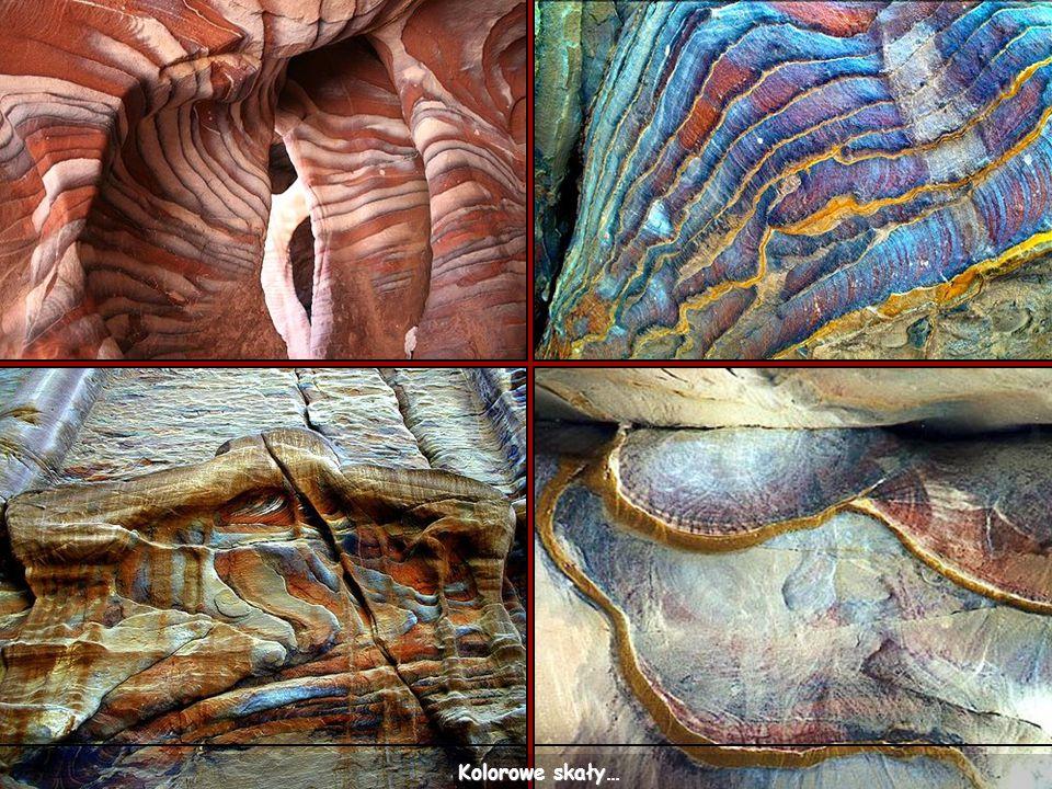 Kolorowe skały…