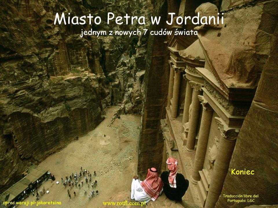 Miasto Petra w Jordanii