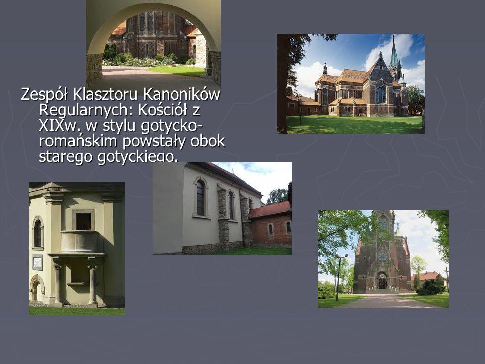 Zespół Klasztoru Kanoników Regularnych: Kościół z XIXw