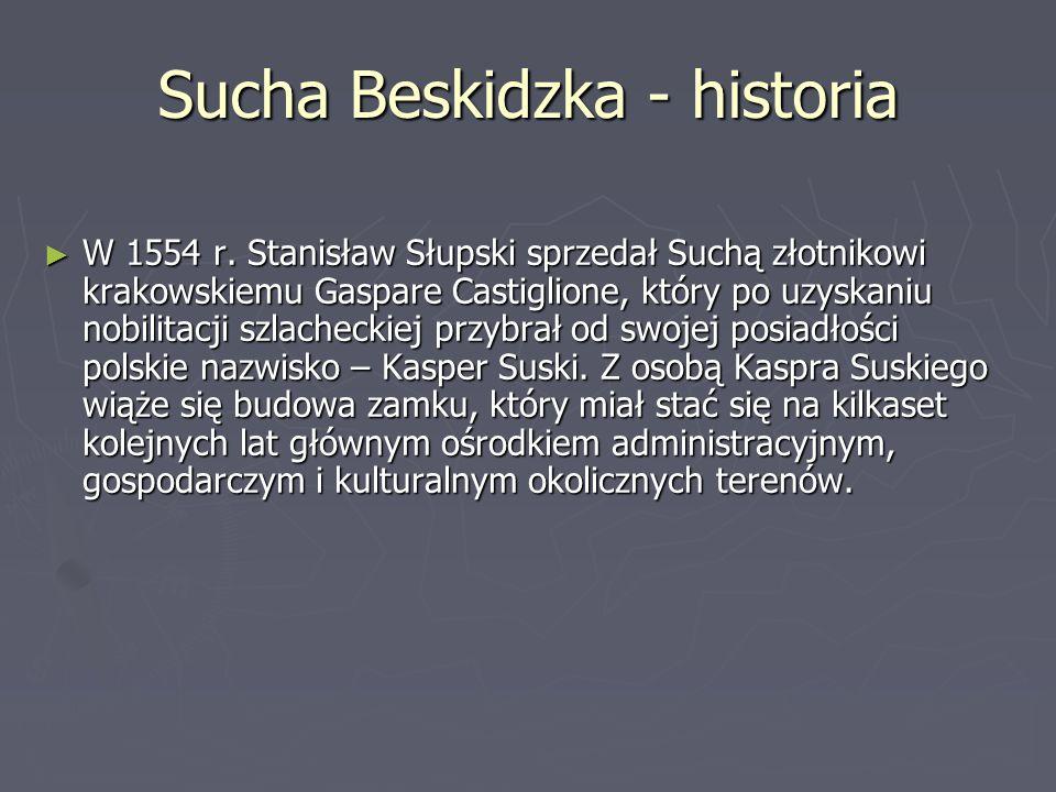 Sucha Beskidzka - historia