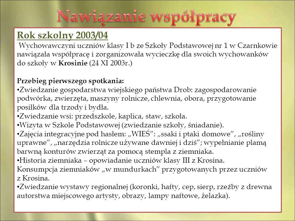 Rok szkolny 2003/04