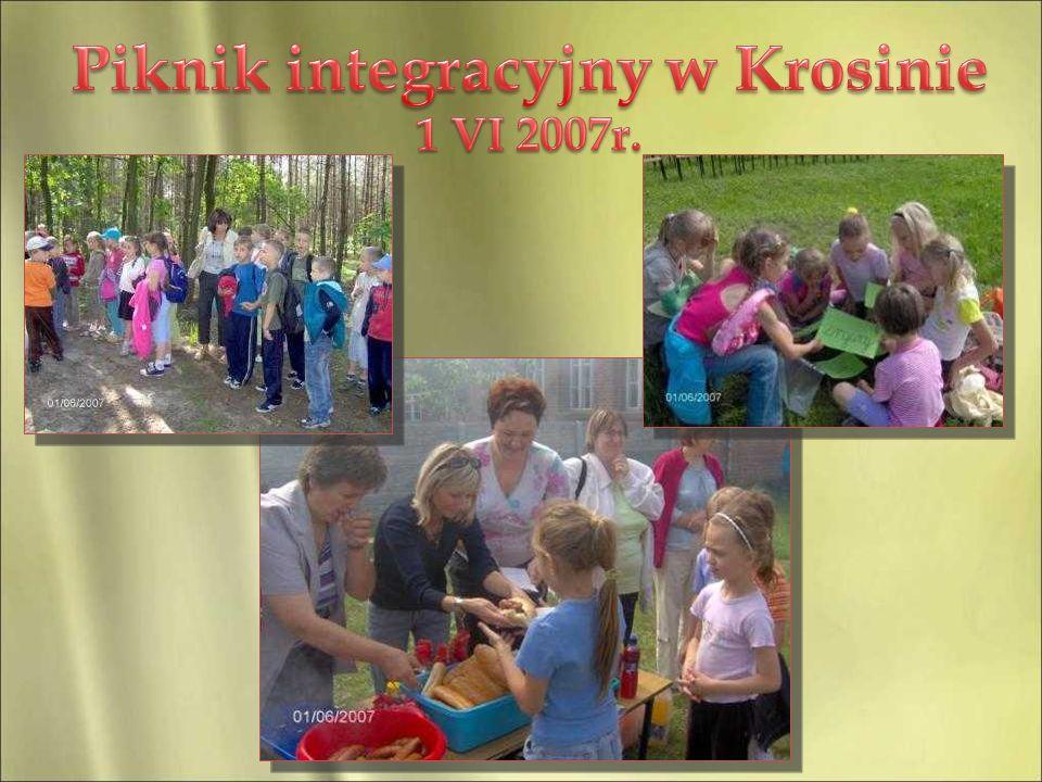 Piknik integracyjny w Krosinie