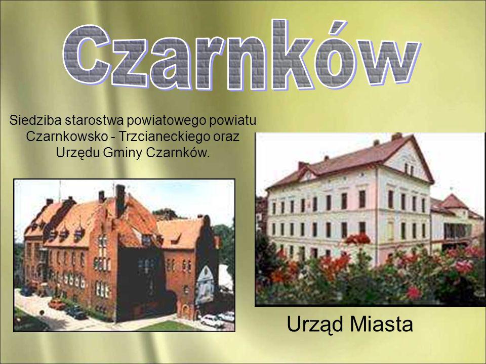Czarnków Siedziba starostwa powiatowego powiatu Czarnkowsko - Trzcianeckiego oraz Urzędu Gminy Czarnków.