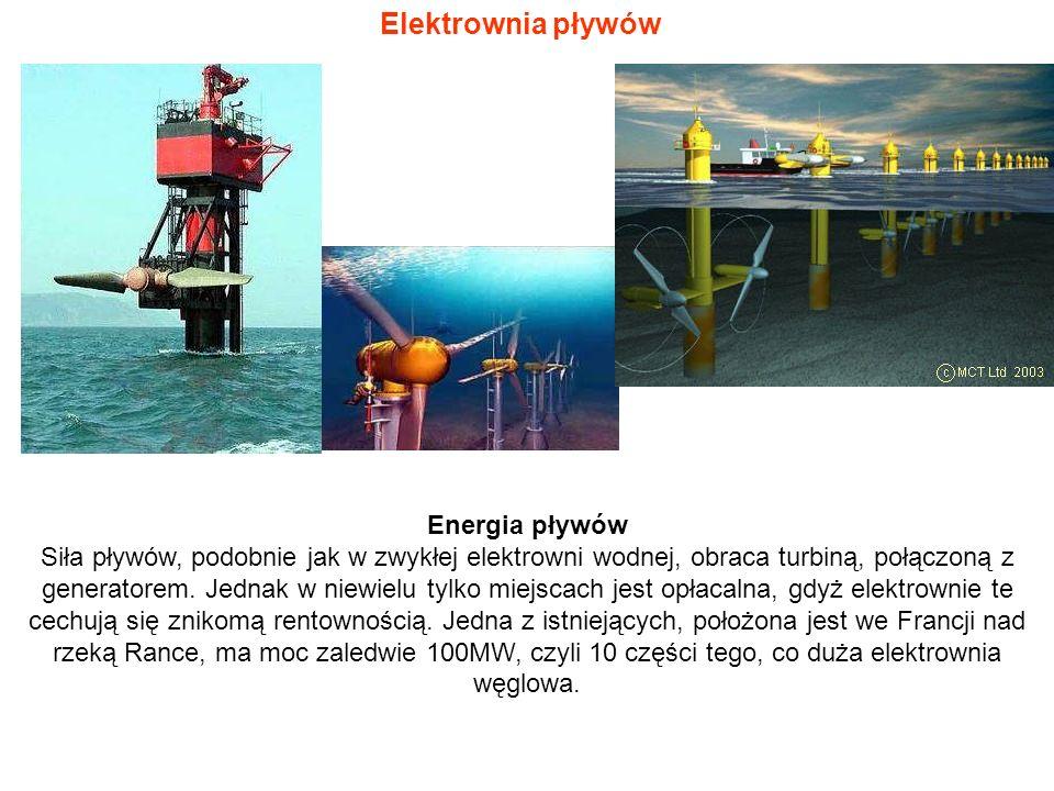 Elektrownia pływów Energia pływów