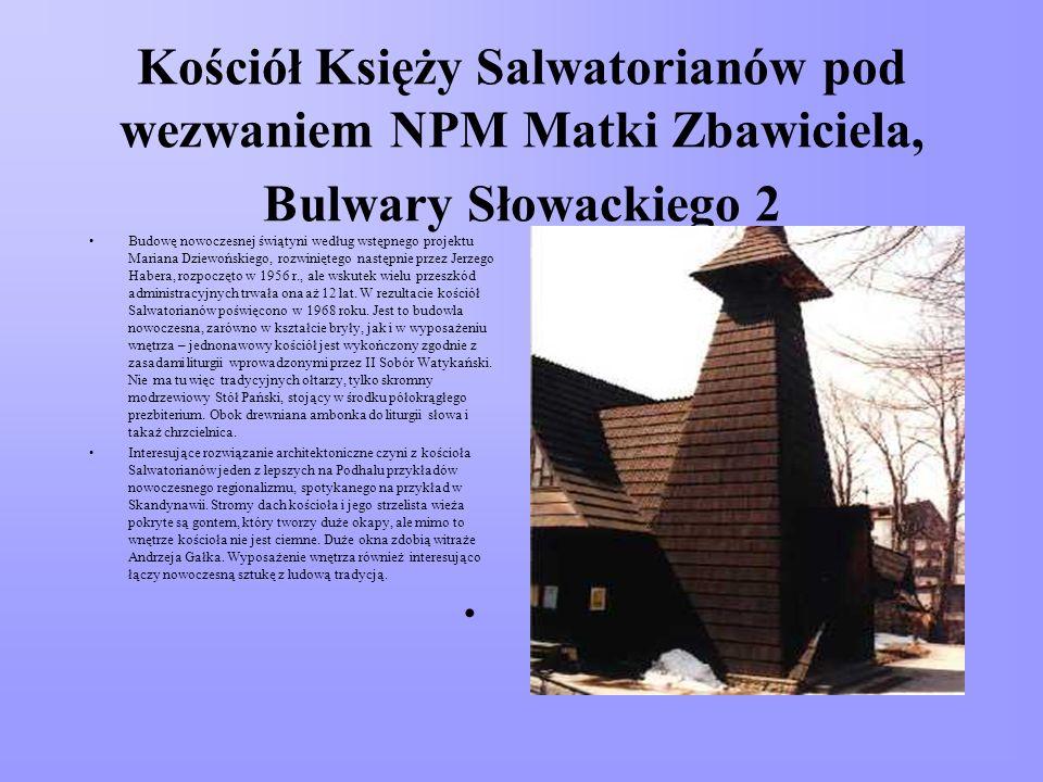 Kościół Księży Salwatorianów pod wezwaniem NPM Matki Zbawiciela, Bulwary Słowackiego 2