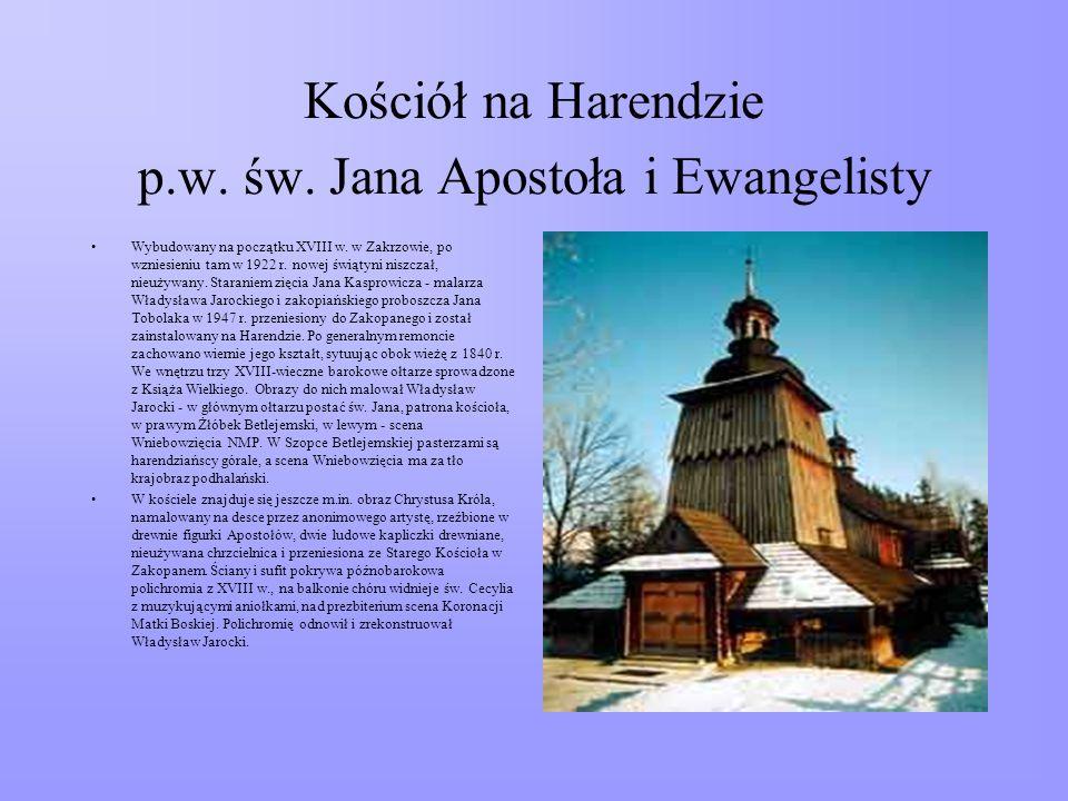 Kościół na Harendzie p.w. św. Jana Apostoła i Ewangelisty