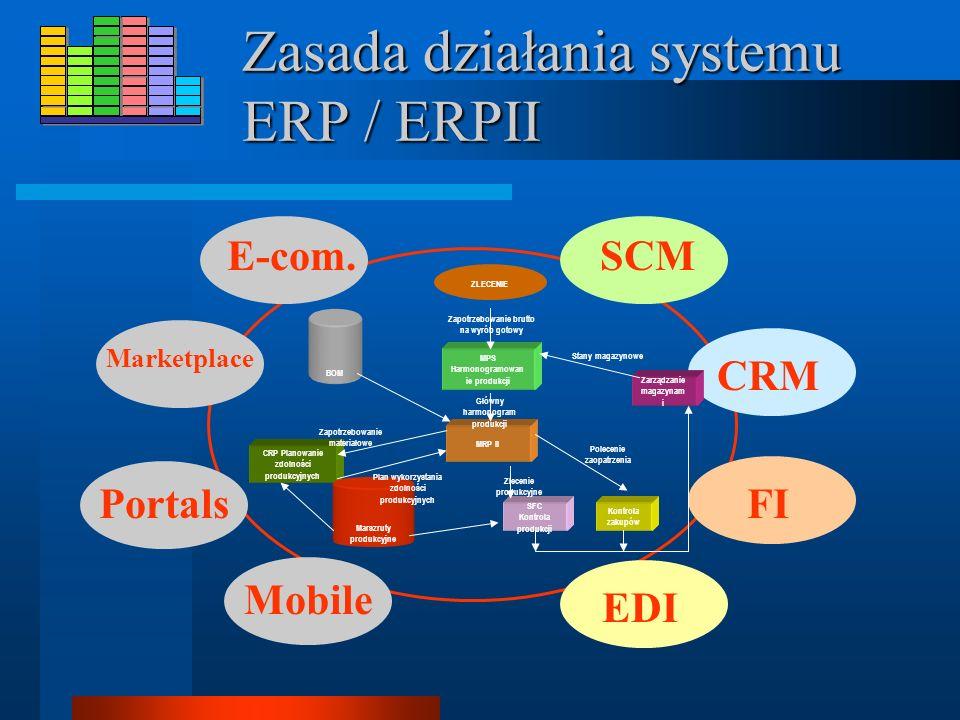 Zasada działania systemu ERP / ERPII