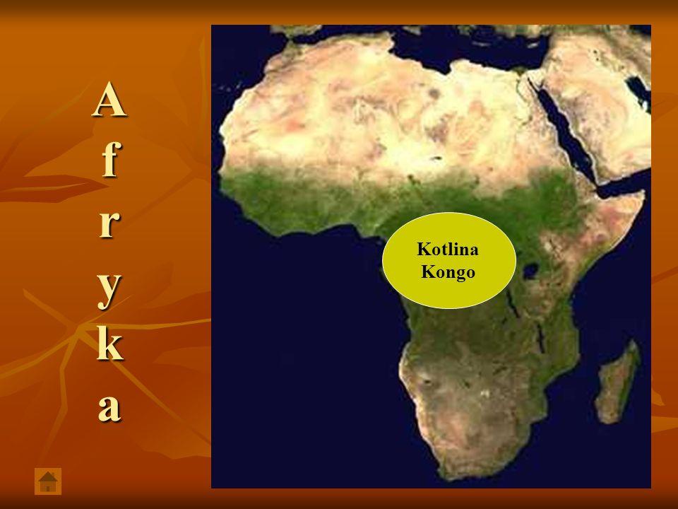 A f r y k a Kotlina Kongo