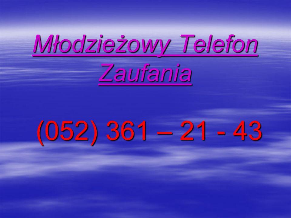 Młodzieżowy Telefon Zaufania