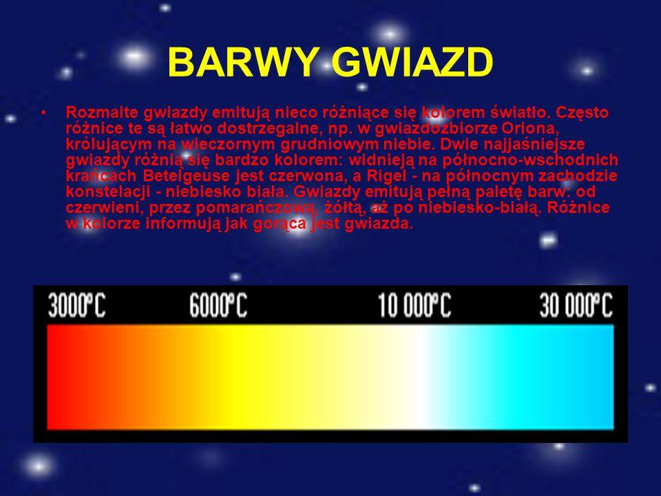 BARWY GWIAZD