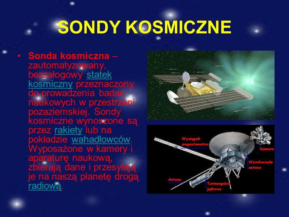 SONDY KOSMICZNE