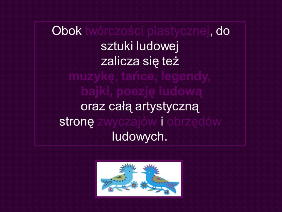stronę zwyczajów i obrzędów ludowych.