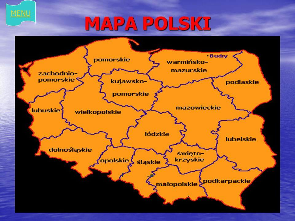 MENU MAPA POLSKI