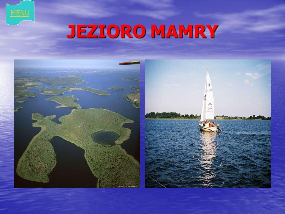 MENU JEZIORO MAMRY