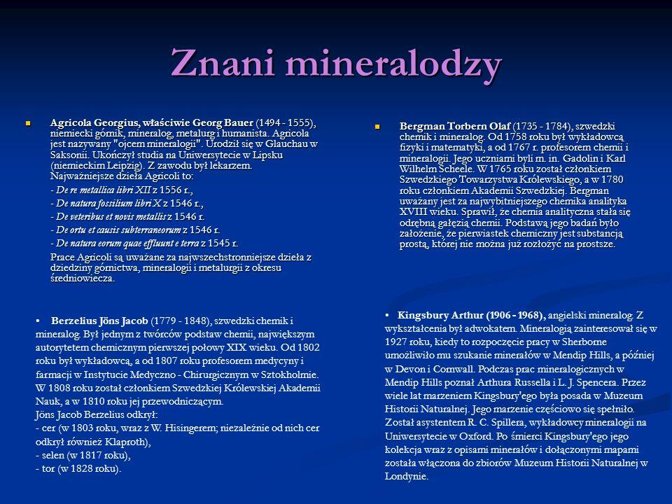 Znani mineralodzy
