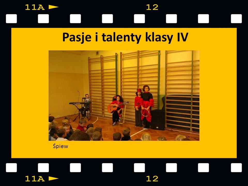 Pasje i talenty klasy IV