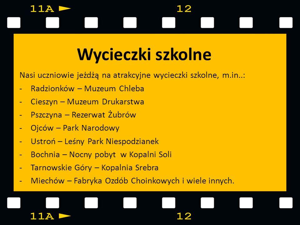 Wycieczki szkolneNasi uczniowie jeżdżą na atrakcyjne wycieczki szkolne, m.in..: Radzionków – Muzeum Chleba.