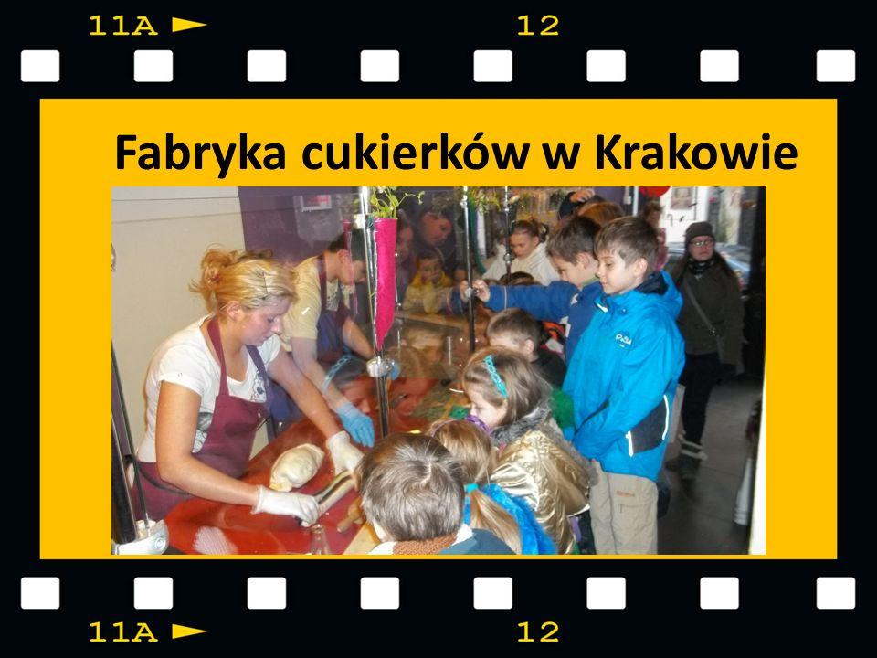 Fabryka cukierków w Krakowie