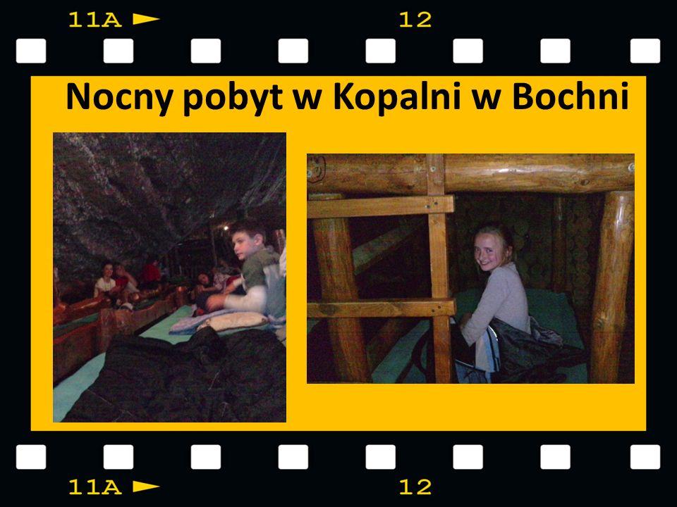 Nocny pobyt w Kopalni w Bochni