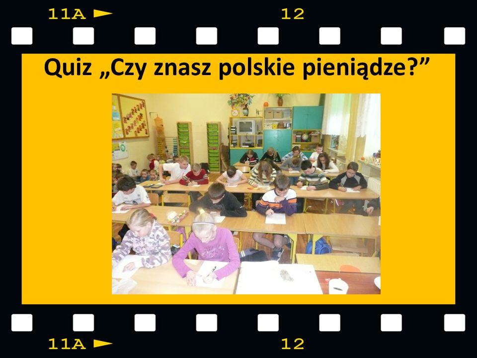 """Quiz """"Czy znasz polskie pieniądze"""