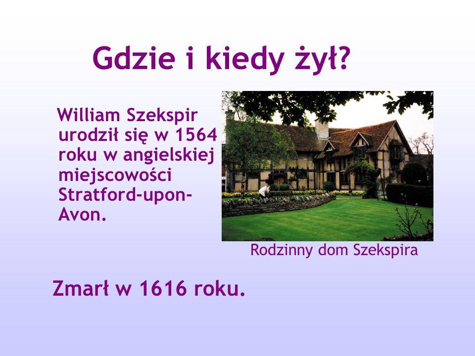 Gdzie i kiedy żył Zmarł w 1616 roku.