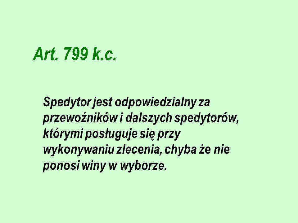 Art. 799 k.c.