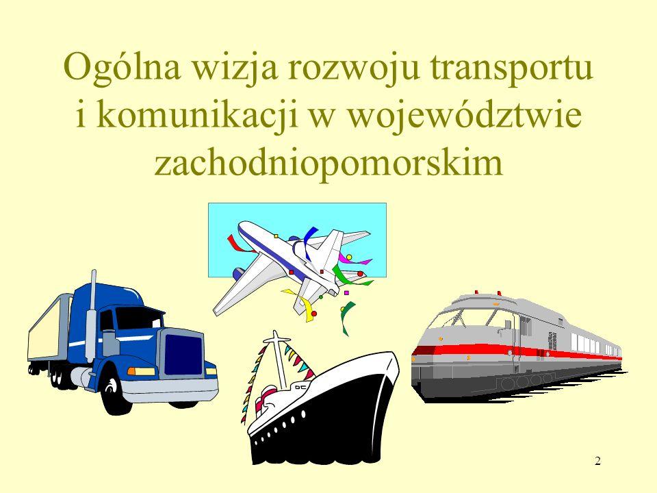 Ogólna wizja rozwoju transportu i komunikacji w województwie zachodniopomorskim