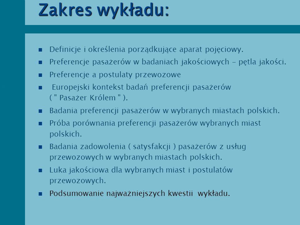 Zakres wykładu: Definicje i określenia porządkujące aparat pojęciowy.