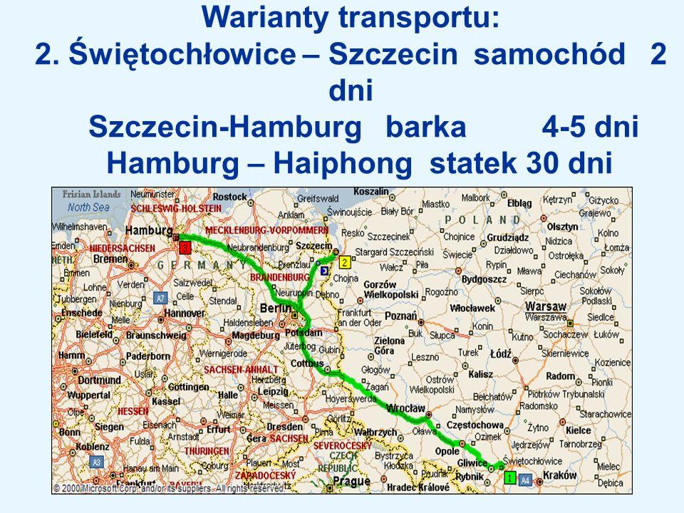 Warianty transportu: 2.