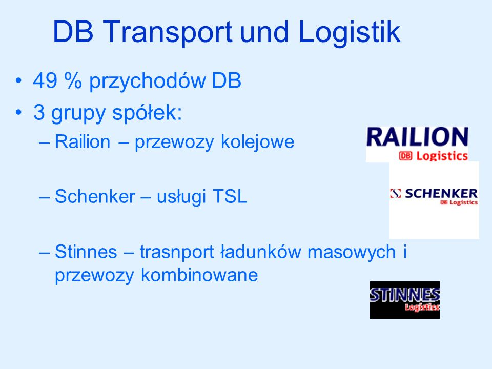 DB Transport und Logistik