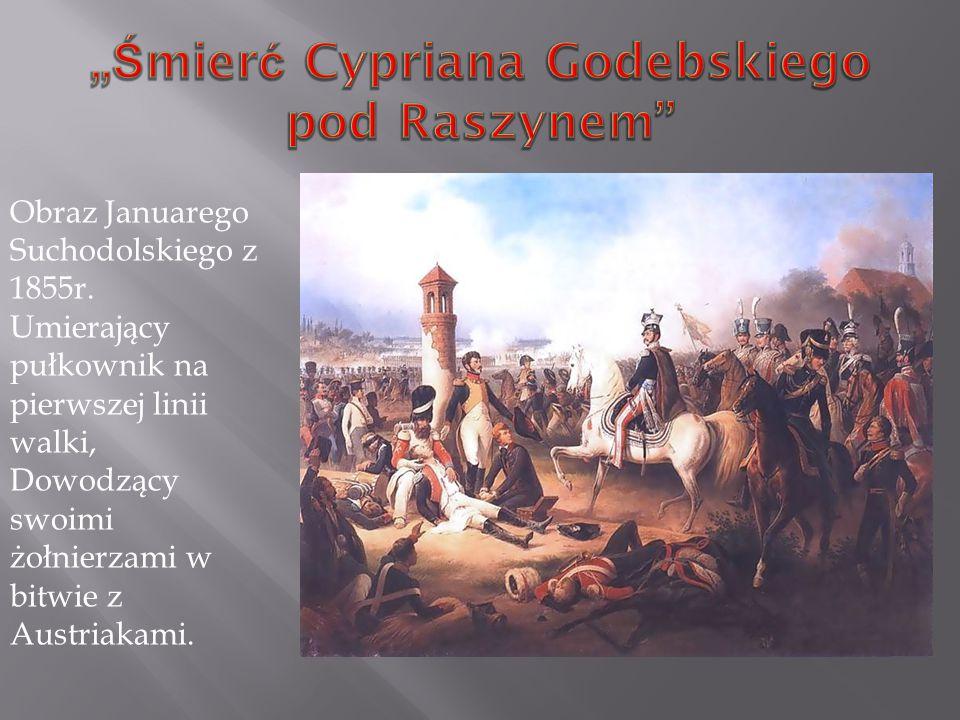 """""""Śmierć Cypriana Godebskiego pod Raszynem"""