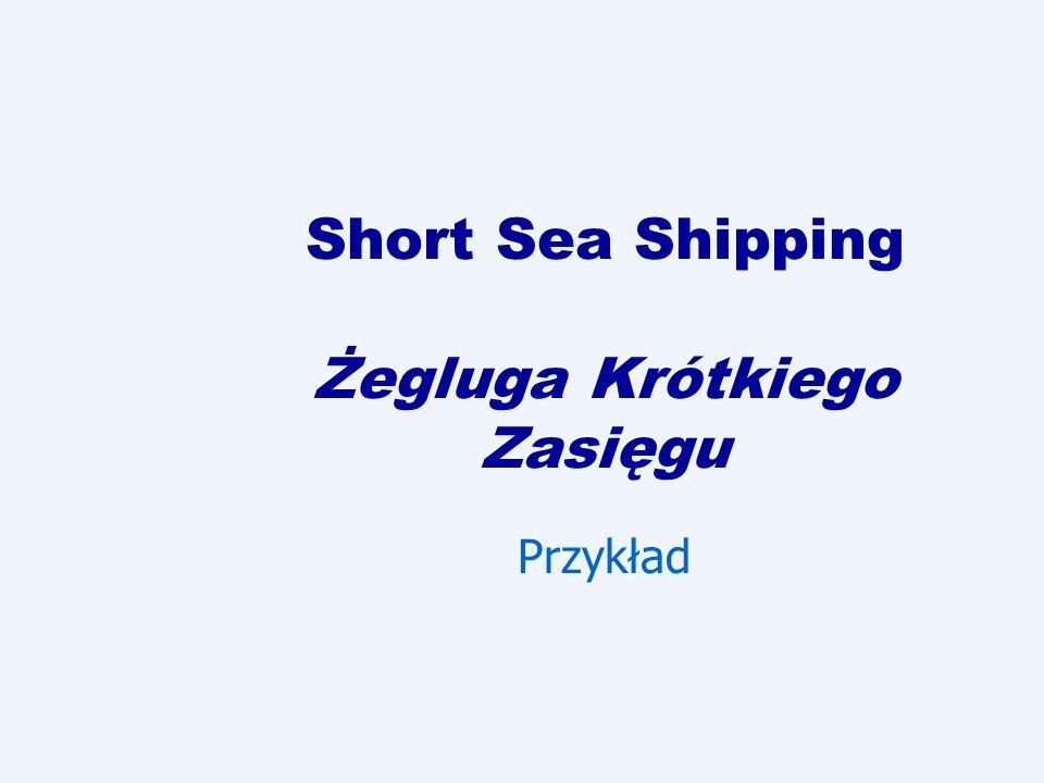 Short Sea Shipping Żegluga Krótkiego Zasięgu