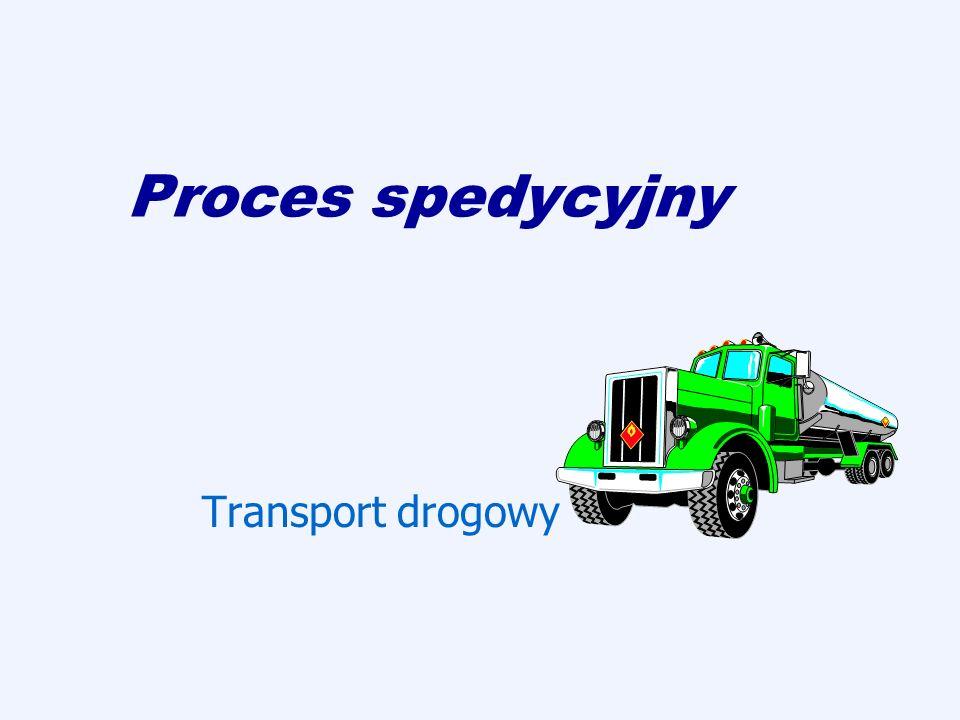 Proces spedycyjny Transport drogowy