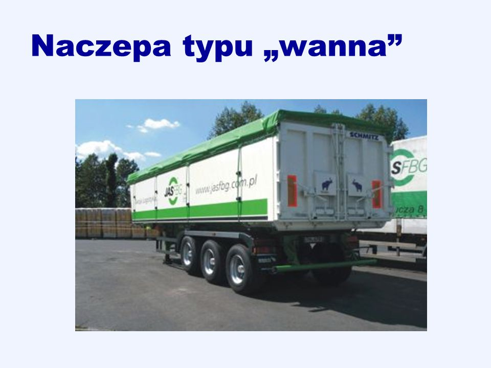 """Naczepa typu """"wanna"""